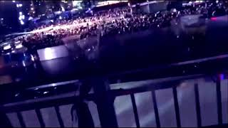 LAS VEGAS SHOOTING MULTIPLE FOOTAGE Jason Aldean concert Mandalay Bay
