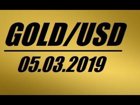 Прогноз цены на золото - 05.03.2019