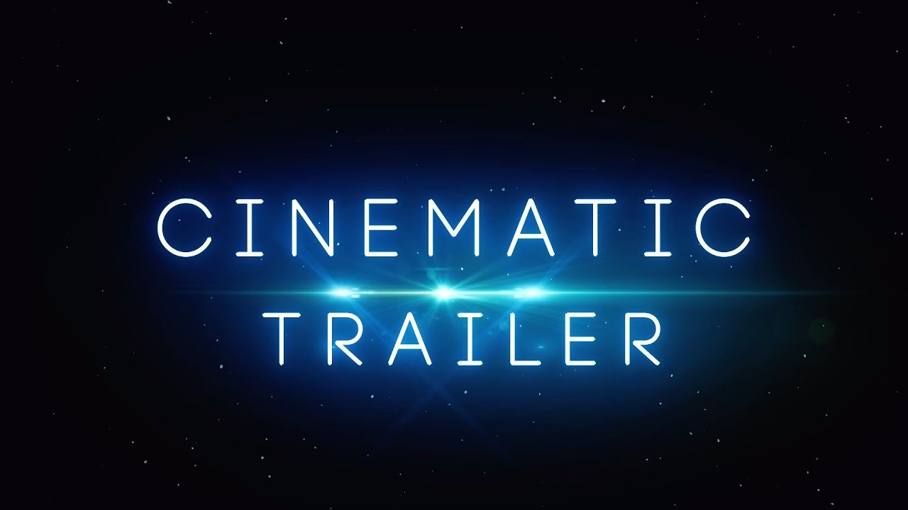 cinematic trailer after effects template free