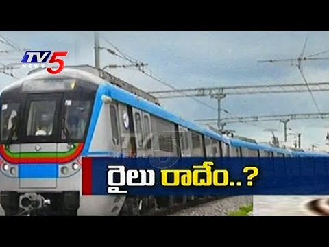 Special Report On Hyderabad Metro Rail Works | TV5 News