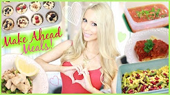 MEAL PREP WITH ME! Healthy Make-Ahead Meal Ideas