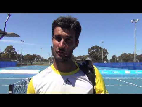 ATP Challenger Traralgon - Yuki Bhambri after the semifinal