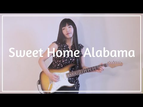 Sweet Home Alabama ( Solo & Rhythm Guitar Cover ) - Hisako Ozawa