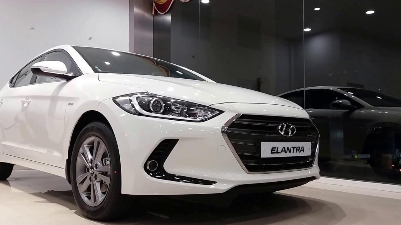 2018 Hyundai Elantra Polar White Exterior And Interior Elegant And