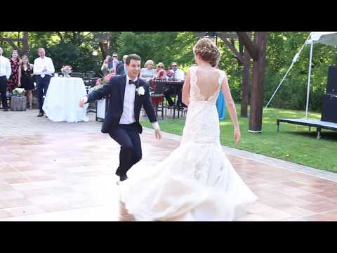 OUR WEDDING FIRST DANCE! -  lots of fun, love, & laughs!