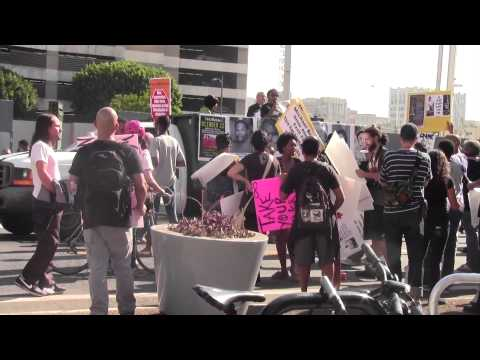 National Day of Protest to Stop Police Brutality March in Downtown Los Angeles