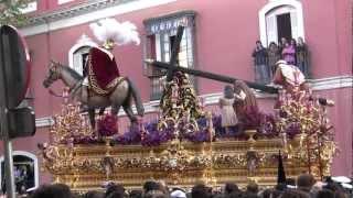 Tres Caídas de Triana 2012 en el Baratillo2/2.Marchas: Seña Santana,Pureza y Abrazado a Triana  HD