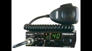 Обзор радиостанции PRESIDENT HENRY ASC