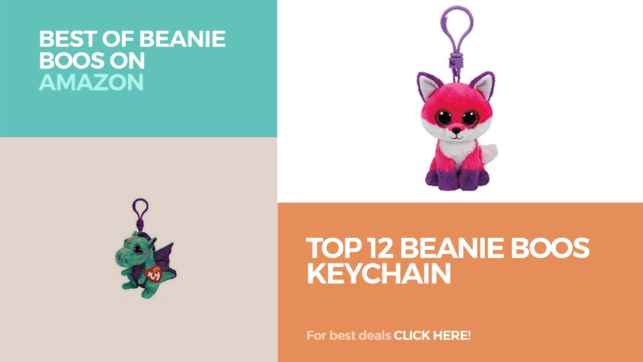 Top 12 Beanie Boos Keychain    Best Of Beanie Boos On Amazon - YouTube 952ea5bb74dd
