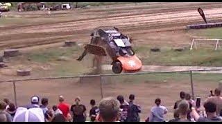 Off Road Racing High Speed Crashes Exhilarating Crandon 2018