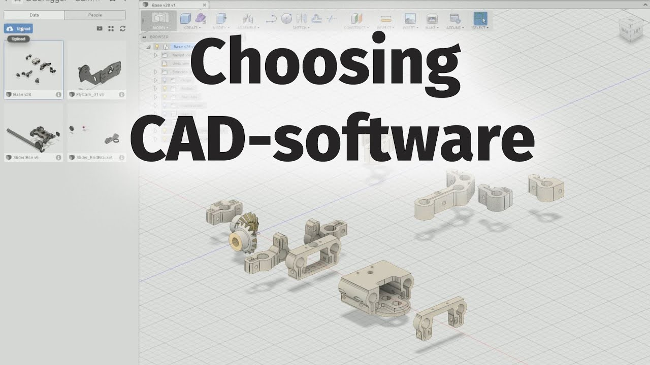 Choosing 3d Printing Cad Software Free Options Youtube