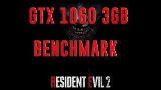 RESIDENT EVIL 2 REMAKE | GTX 1060 3GB + I5-7400 + 8GB RAM | HIGH SETTINGS - 1080p | BENCHMARK