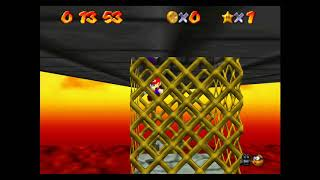 "SM64 [TAS] - Bowser in the Fire Sea (17""53)"