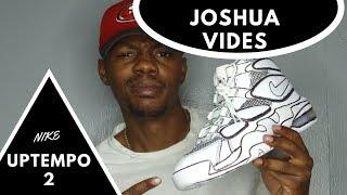784395ee322f Joshua Vides NIKE UPTEMPO CARTOON POP ART CUSTOMS