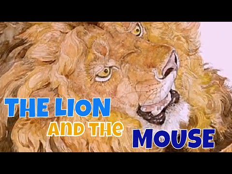Children Story Books Read Aloud | THE LION AND THE MOUSE | Animal Story