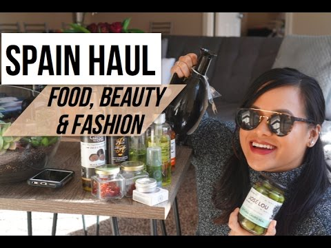 SPAIN HAUL | Souvenirs, Gifts, & More from España