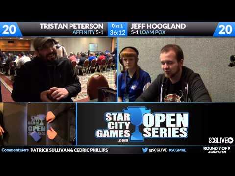 SCGMKE - Legacy - Round 7 - Tristan Peterson vs Jeff Hoogland