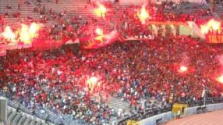 Ultras Ahlawy★ The Ring of Fire - pyroshow Al Ahly - Champions league
