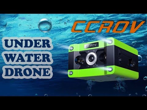 CCROV-The Professional Underwater Drone features a 4K Camera | ReviewRounder