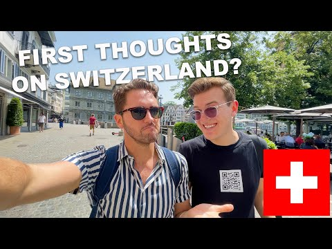 Our First 48 Hours In SWITZERLAND