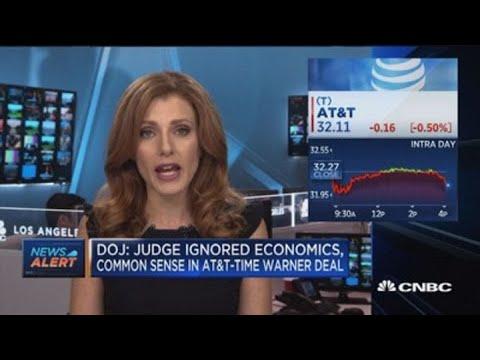 DOJ: Judge ignored economics, common sense in AT&T-Time Warner Deal