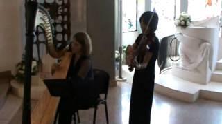 F. Mendelsshon: Marcia Nuziale - Violino e Arpa