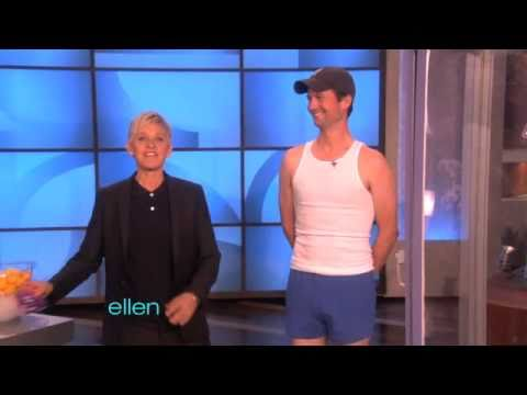 Ellen tests allegra otc youtube - Ellen show live ...