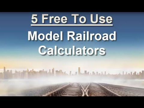 5 Free Model Railroad Scale Calculators To Share