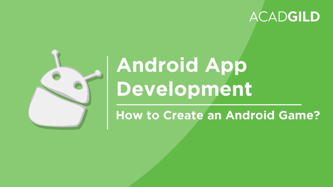 How to create an android game android game development tutorial how to create an android game android game development tutorial android game app tutorial baditri Choice Image