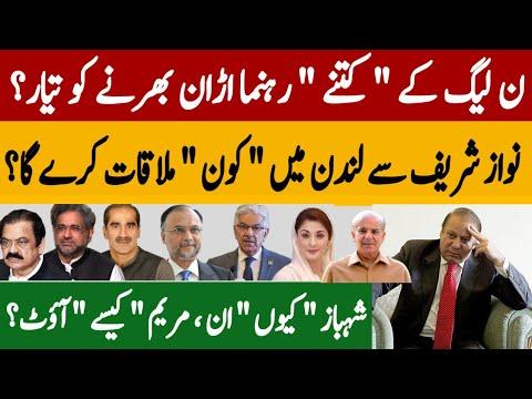 ن لیگ کے کتنے رہنما اڑان بھرنے کو تیار؟   نواز شریف سے لندن میں کون ملاقات کریگا؟  Fayyaz Raja Video