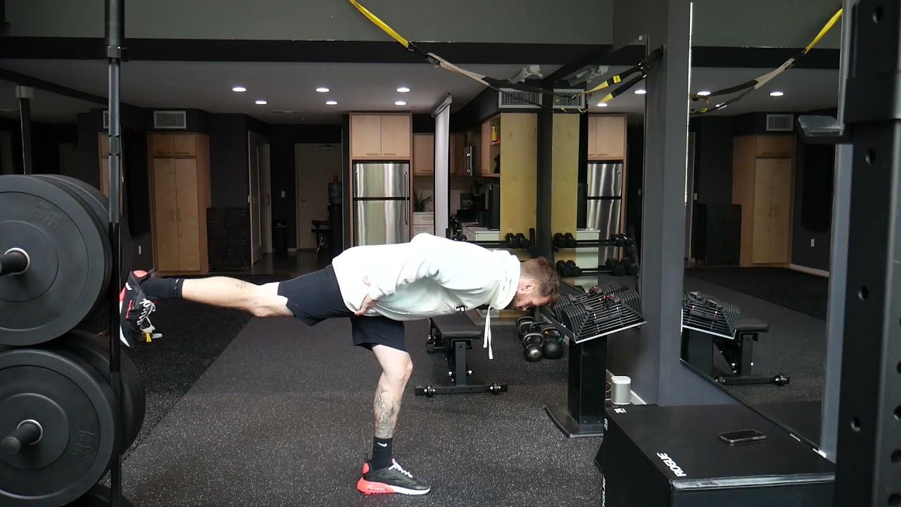 How to perform: Single leg RDL