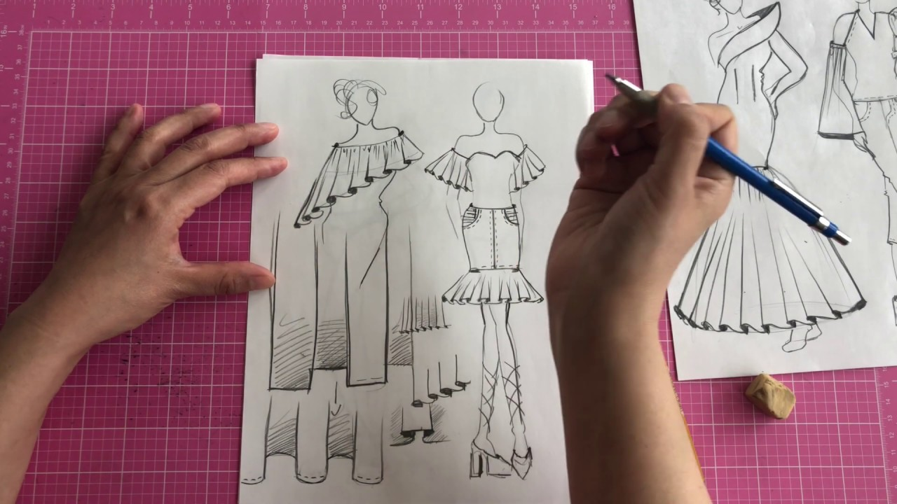 Fashion Illustration: Drawing Clothing - Part Two