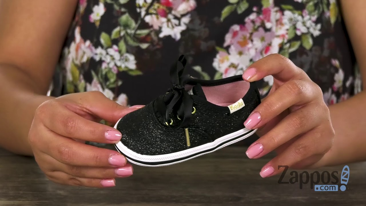 3c377ee40e61 Keds Kids Keds X Kate Spade Champion Glitter Crib (Infant Toddler) SKU   9067391
