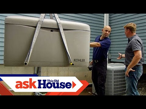 How to Install an Automatic Standby Generator