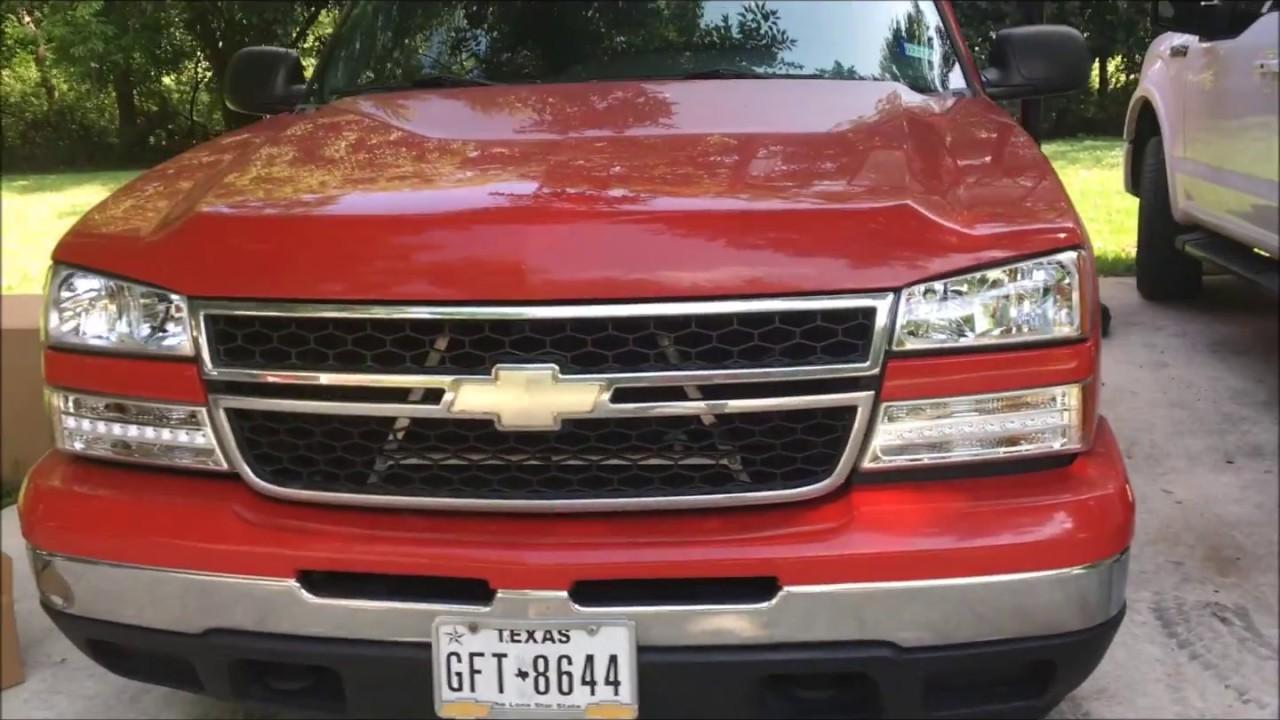 2006 Chevrolet Silverado Lighting Upgrade Part 1 New Headlights