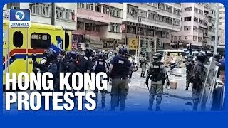 Two In Critical Condition Following Hong Kong Violence