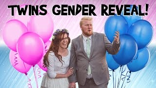 EXCITING TWINS GENDER REVEAL!