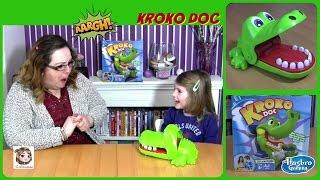 Kroko Doc - Pass auf deine Finger auf, bevor das Krokodil zuschnappt! Spiel | Hasbro