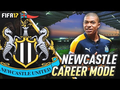 NEWCASTLE DEBUT FOR KYLIAN MBAPPE!!! FIFA 17 Newcastle United Career Mode #25