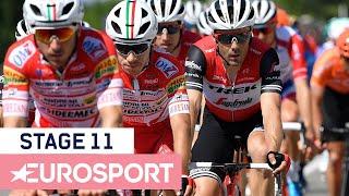 Giro d'Italia 2019   Stage 11 Highlights   Cycling   Eurosport