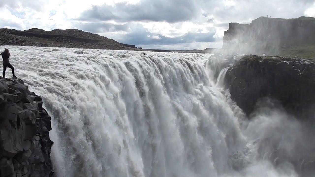 Cascada De Dettifoss Islandia Youtube