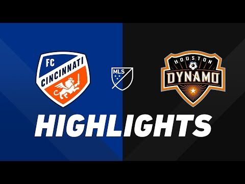 FC Cincinnati vs. Houston Dynamo | HIGHLIGHTS - July 6, 2019