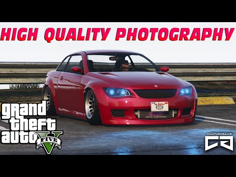 GTA5 - HOW TO TAKE HIGH QUALITY PHOTOGRAPHY - PC GRAPHICS ON XBOX ONE?