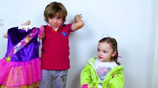 Makar helps Ksenia become a beautiful Toy for girls