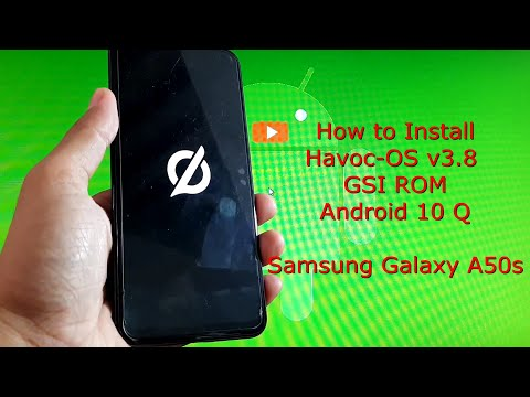 Havoc-OS v3.8 GSI for Samsung Galaxy A50s Android 10 Q