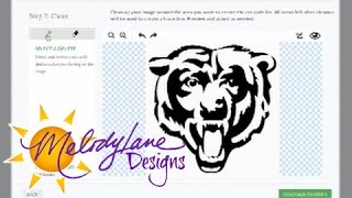 Upload Image to Design Space