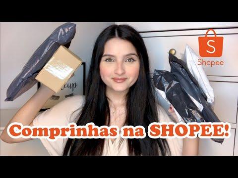 Comprinhas na Shopee! Maquiagem, roupas e +! | Fernanda Coelho