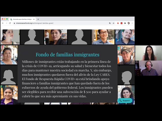 Fondo de familias inmigrantes