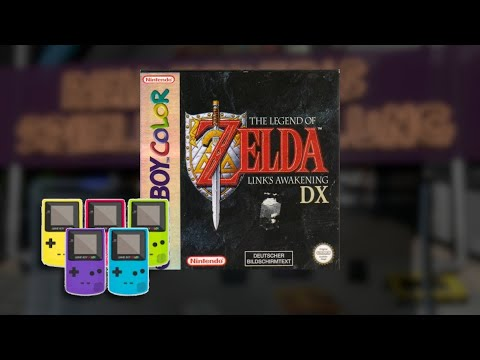 Gameplay : The Legend of Zelda Links Awakening DX [Gameboy Color]