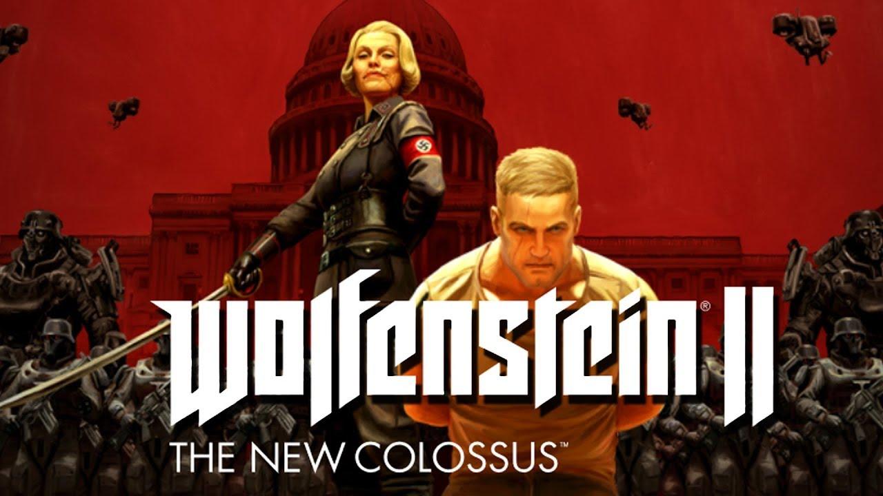 Zagrajmy w Wolfenstein II: The New Colossus #1 – Będzie hicior! – PC 4K